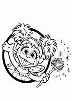 INSTANT DOWNLOAD Sesame Street Abby Cadabby Clip Art