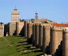 Avila castles