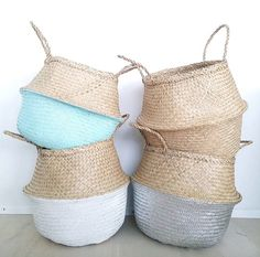 You have maybe seen these beautiful belly baskets in a feature of a Scandinavian home. A perfect add to a clean Scandinavian decor. Our beautiful