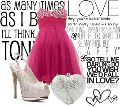 """PROM!!!"" by mylifesparkles ❤ liked on Polyvore"
