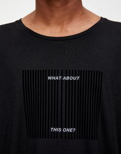 Short sleeve T-shirt with a contrast slogan print and a crew neck. Pull & Bear, Men's Collection, Print Patterns, Contrast, Short Sleeves, Menswear, Sweatshirts, How To Wear, T Shirt