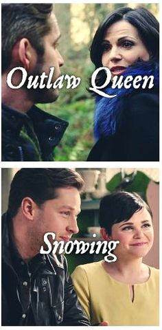 Outlaw Queen or Snowing? Snowing's always been a bit boring to me, I love Outlaw Queen though!