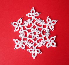 AngelSan Creation: Tatted snowflake