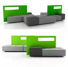 Modular custom sofa system