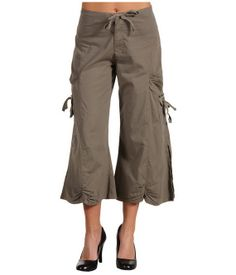 minus the heels and the bare midrif! Gaucho Pants For Women