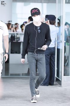 150720: EXO Oh Sehun; Beijing Airport to Gimpo Airport