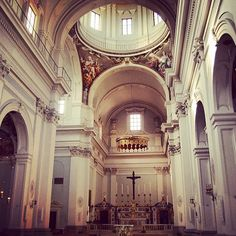 Inside San Frediano in Cestello #sanfrediano...