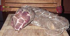 La coppa se prépare avec de l'échine de porc. C'est la nuque du porc, cette partie est très persillée ce qui donne au morceau de la souple...