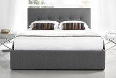 "Kaydian Hexham 4'6"" Bed | Kaydian Hexham Double Storage Bed"