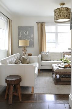 Neutrals, natural elements...maybe a few pops of color somewhere