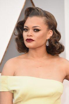 2016 Oscars Beauty - Andra Day | Hair Beauty Co-op