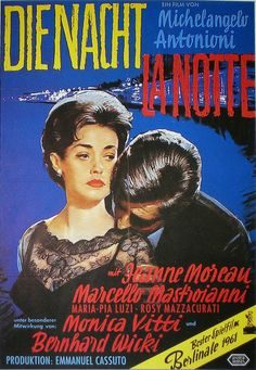 LA NOTTE (Dir. Michelangelo Antonioni, 1961)