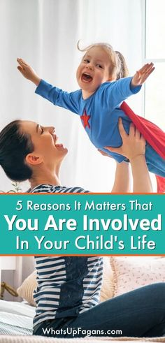 5 reasons parental involvement is important in your child's life plus 4 parent involvement ideas to help you make it really count. If you want to help a child academically, socially, and emotionally, this read is for you. Positive Parenting Solutions, Parenting Advice, Kids And Parenting, Education And Development, Child Development, Language Development, Early Education, Interpersonal Relationship, Christian Parenting