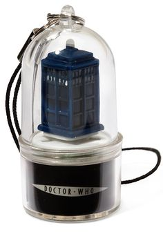 ThinkGeek :: Doctor Who Cell Phone Alert Charms
