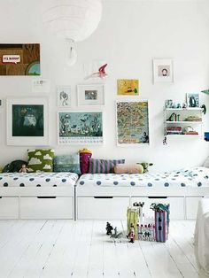 23 encantadoras habitaciones compartidas. | Mil Ideas de Decoración