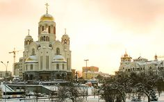 Church on the Blood, Yekaterinburg. Consecrated in 2003, it was built on the place of the family's massacre.