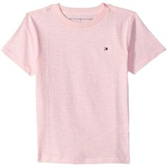 Tommy Hilfiger Damen Seite Schlitz Basic T-Shirt