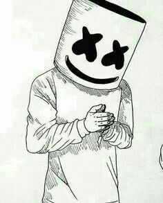 marshmello dj coloring pages Pencil Art, Pencil Drawings, Marshmello Dj, Wallpaper World, Marshmello Wallpapers, Arte Dope, Drawing Practice, Electronic Music, Easy Drawings