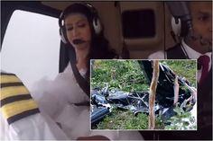 ¡Fatal! Novia quiso llegar a su boda en helicóptero y se estrelló (+video)
