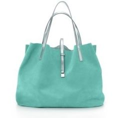 turquoise and silver bag <3