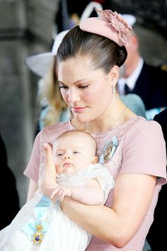 Princess Victoria & baby Estelle
