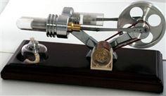 Stirling Engine with LED Light!