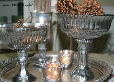 27 Brilliant Mercury Glass Craft Ideas