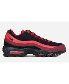 huge selection of 34172 c67e9 Nike Air Max 95 Team Red Black Trainers Sale
