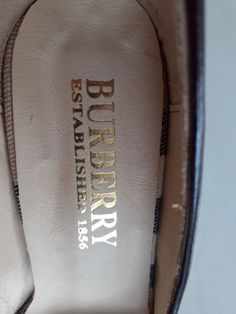 Burberry, Leather High Heels, Products, Gadget