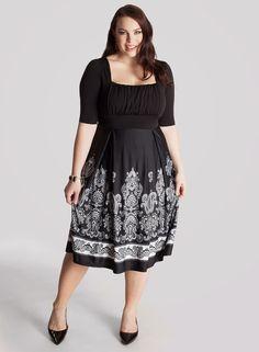 Moda para gorditas   Magníficos vestidos de moda para gorditas
