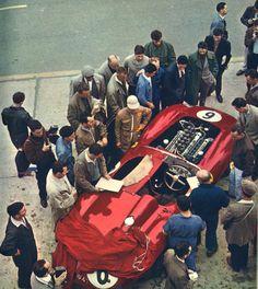 Ferrari 335 MM at Le mans 1957