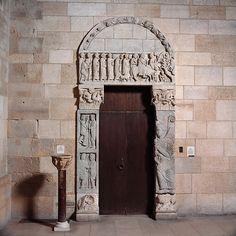 Portal from the Church of San Leonardo al Frigido - ca. 1175, Tuscany, Italy