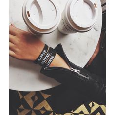 Alfred Bandz with purchase of coffee #alfredcoffee #alfred #coffee #melroseplace #butfirstcoffee