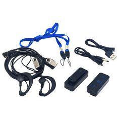 2Pin G-Shape Headset Earphone Earpiece For Baofeng Kenwood YTY Walkie Talkie USA