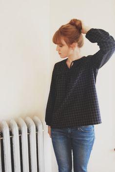 Malin Pullover Top by annaallen on Etsy, $130.00