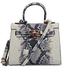 Ainifeel Women's Python Emboosed Padlock Leather Shoulder Handbags Hobo Handbag (25cm, Color-C) Ainifeel http://www.amazon.com/dp/B014JFCB0I/ref=cm_sw_r_pi_dp_Lt0zwb0N6AACX