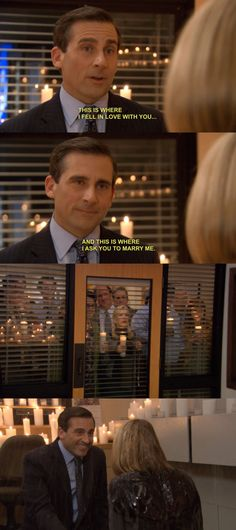 The perfect couple! Michael and Holly! The Office TV Show