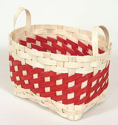 Holiday Basket 2006 - Peppermint Twist from Basket Maker's Catalog