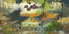 "Threshold | oil on canvas | 48 x 96"" | 2010 | website"
