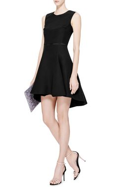 Cotton-Blend A-Line Dress by Giambattista Valli - Moda Operandi