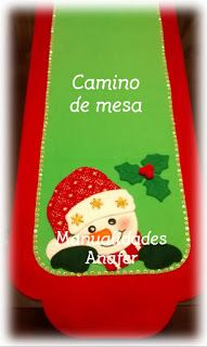 Manualidades Anafer: Caminos de mesa Blue Christmas, Christmas Holidays, Christmas Ornaments, Crotchet Patterns, Xmas Crafts, Decoupage, Projects To Try, Quilts, Halloween