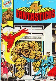 Fantastic Four # 181 by Jack Kirby & Joe Sinnott Marvel Comics, Marvel Comic Books, Comic Books Art, Marvel Dc, Comic Art, Captain Marvel, Comic Superheroes, Jack Kirby, Stan Lee