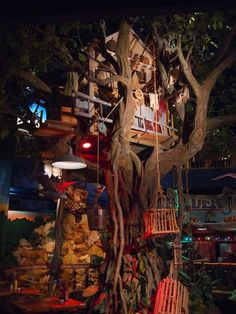 Banyan Tree with Treehouse