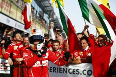 Victory in Melbourne! Forza Ferrari!