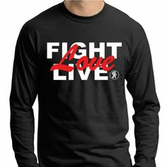 LIVE like the father's spirit lives in you. FIGHT for what you believe in. LOVE...for its the greatest commandment! www.SacredApparel.net