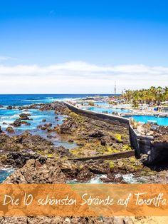 Auf Teneriffa gibt es viele traumhafte Strände. Wir haben die 10 schönsten gesucht und gefunden ► Packt die Badesachen ein und los geht's