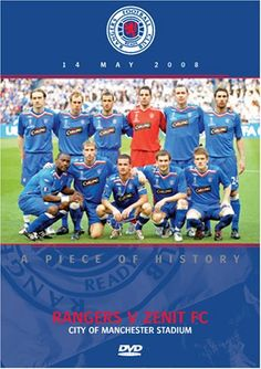 UEFA Cup Final 2008 Glasgow Rangers v FC Zenit  [DVD]. . http://www.champions-league.today/uefa-cup-final-2008-glasgow-rangers-v-fc-zenit-dvd/.  #barclays premier league #Champions League #football #football club logos #football tops #Premier League #uefa