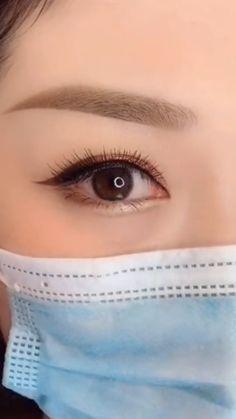 Makeup Eye Looks, Eye Makeup Steps, Eye Makeup Art, Eyebrow Makeup, Skin Makeup, Makeup Tutorial Eyeliner, Makeup Looks Tutorial, Ulzzang Makeup, Korean Eye Makeup