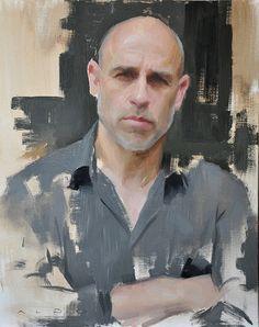 by ALDO BALDING - British contemporary portraitist - Alban