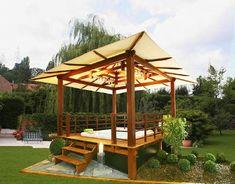 ... Landscape Flower Desert Suncast Front Yard Garden Modern Garden Gazebo